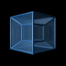 Glass Tesseract Animation. This is an interesting illusion animation.  It has a very neat effect. Click on the picture to see what it does.