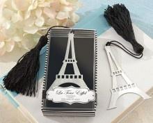 Trouwbedankje boekenlegger van de Eiffeltoren!