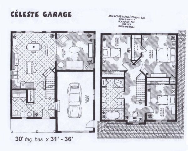 3 Car Garage With Apartment