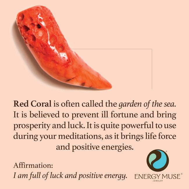 °Red Coral is often referred to as the garden of the sea. It prevents ill fortune & brings prosperity & luck.
