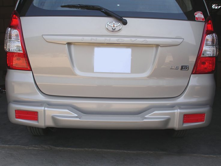 GoldSun Auto (P) Ltd., - Manufacturers of Quality Auto Accessories. At GoldSun, we manufacture various range of car accessories like FRONT BUMPER, REAR BUMPER, NUDGE GUARDS, SIDE FOOT STEPS, for TOYOTA INNOVA cars. Now make Your stylish car, Double Protected With GOLDSUN Car Accessories using GOO REAR BUMPER!