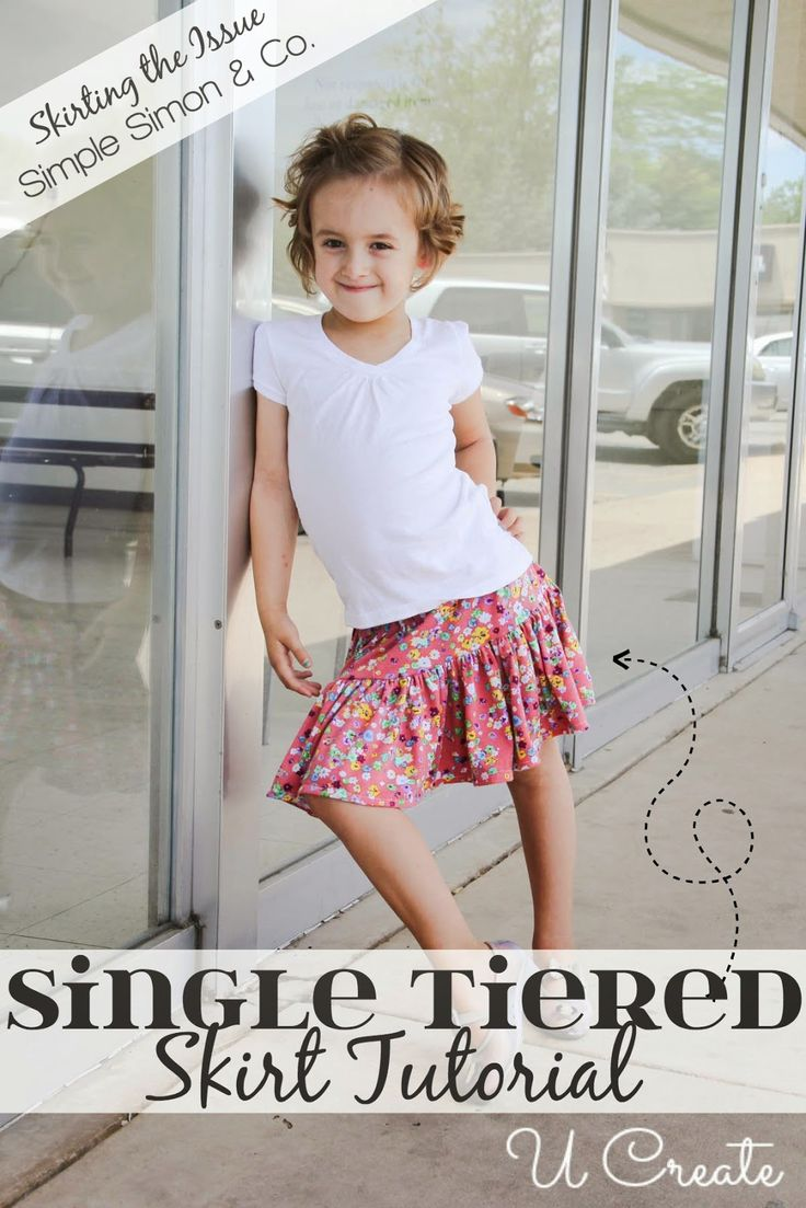 Skirting the Issue with UCreate: A Single Tiered Skirt Tutorial | Simple Simon and Company