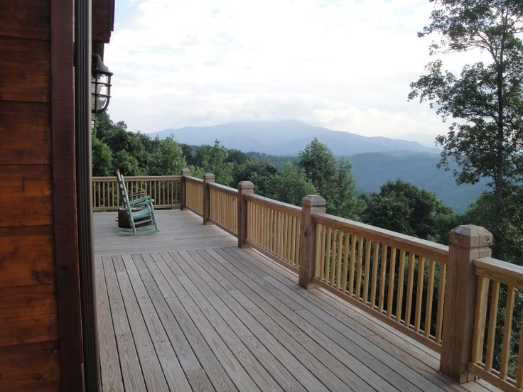 17 Best Images About Mountain Home Outdoor Deck On