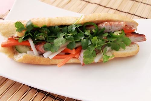 Banh Mi - best sandwich ever.  I've got to ask Cecilia to show me how to make hers.