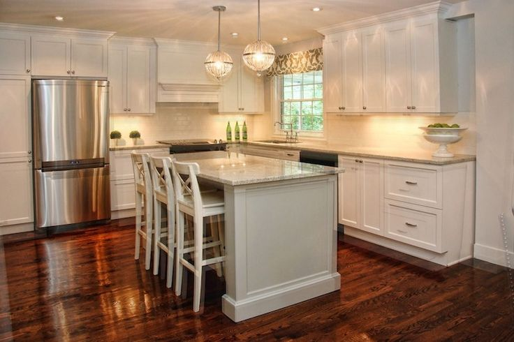 White Granite Countertops, Barbara