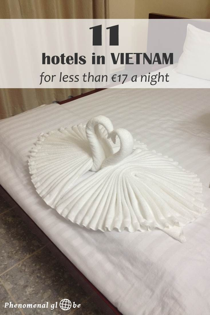 For me, price and review score are the most important factors in deciding where to stay. Read how to find the best deal and where to find some great hotels in Vietnam for €8-17 a night!