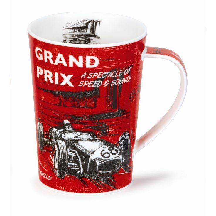 Visit Gifts and Collectables for a great range of Dunoon mugs including the Argyll Grand Prix Dare Devil mug - Same day despatch and fast UK delivery
