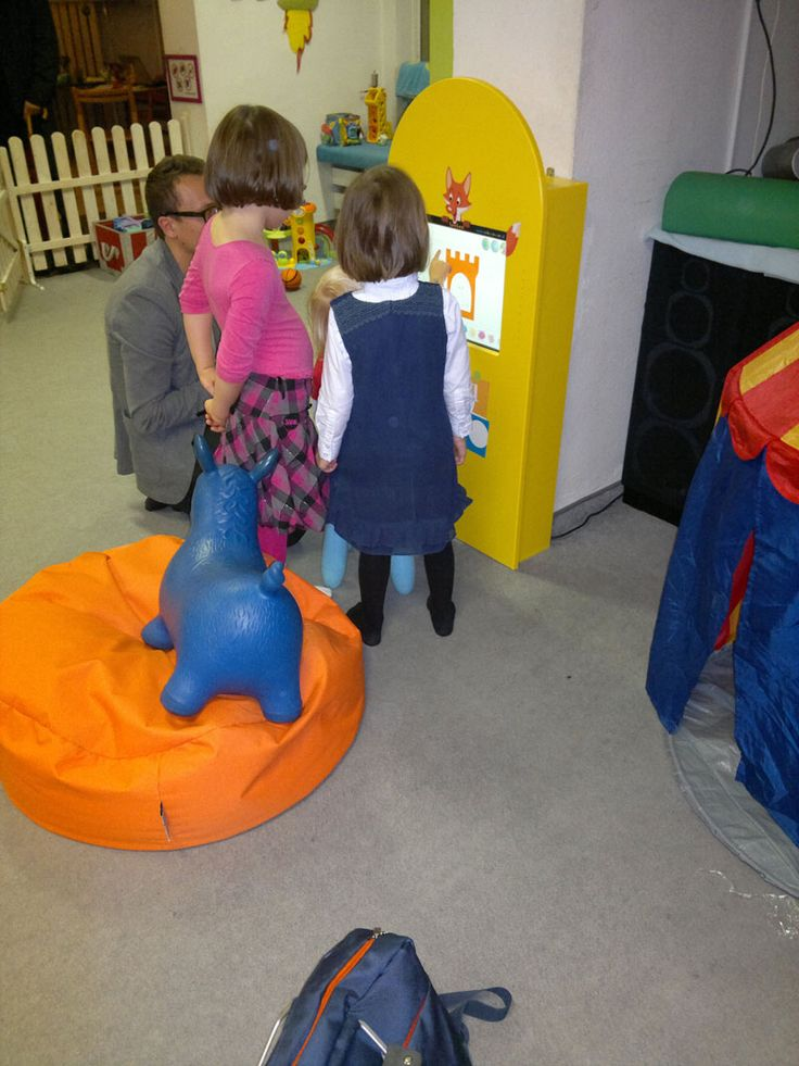 Panel Foxbox w sali zabaw