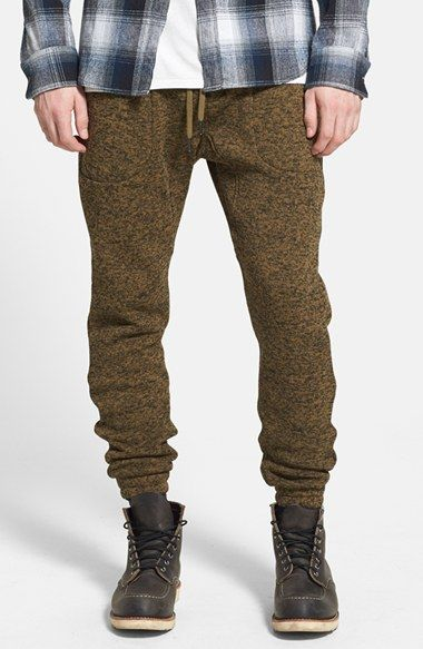 Men's PUBLISH BRAND 'Noel' Heathered Knit Jogger Pants