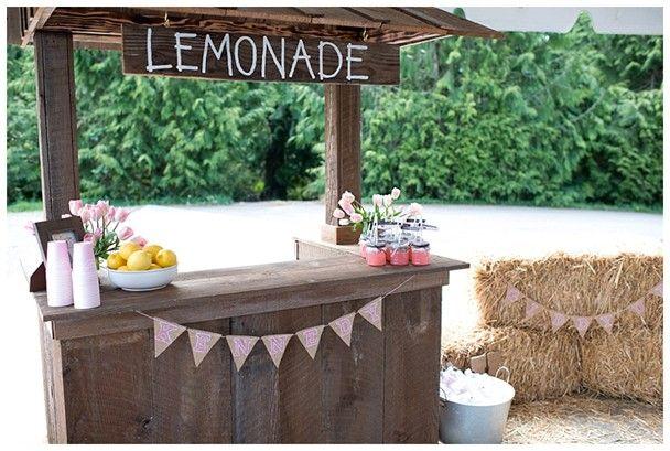 Barraquinha da Limonada, uma boa para festas infantis em locais abertos, como sítios, chácaras, etc.