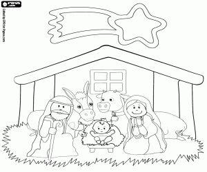 malvorlagen das kind jesus in der krippe ausmalbilder | adventskalender zum ausmalen