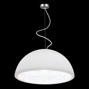 Hanging Ohps witte design-hanglamp