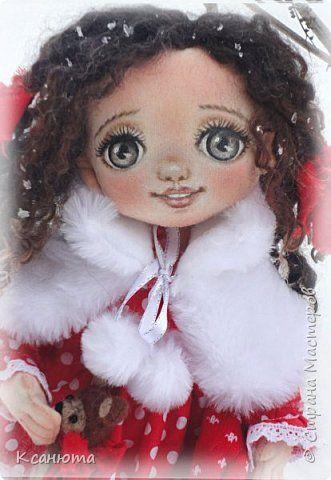 Кукла текстильная-Кудряшка Сью. фото 1