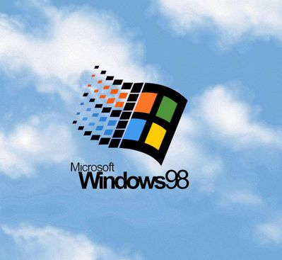 Who remembers this classic Windows 98 logo?