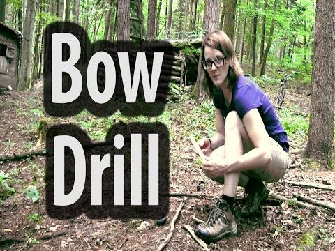 Fresh Bowdrill In Humid Conditions (Willow on Alder) - YouTube