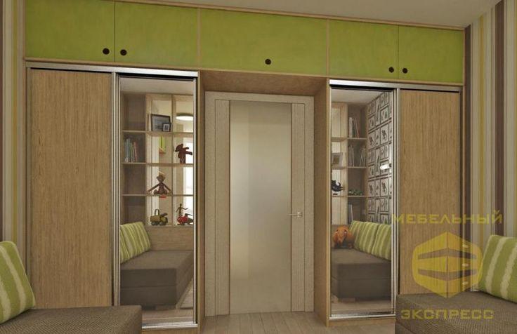 Шкафы-купе в Минске купить шкаф купе в Минске шкаф-купе Senator для детской комнаты - Мебельный экспресс
