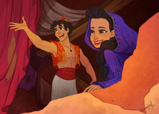 Aladdin on Broadway fan art