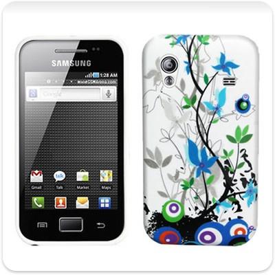 White Flora Gel Case for my Samsung Galaxy Ace via Ebay