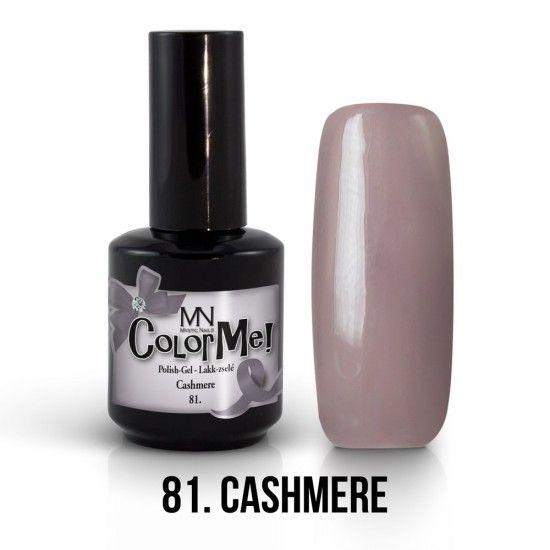 ColorMe! no.81. - Cashmere 12ml gel polish lakkzselé gél lakk nail art mystic nails