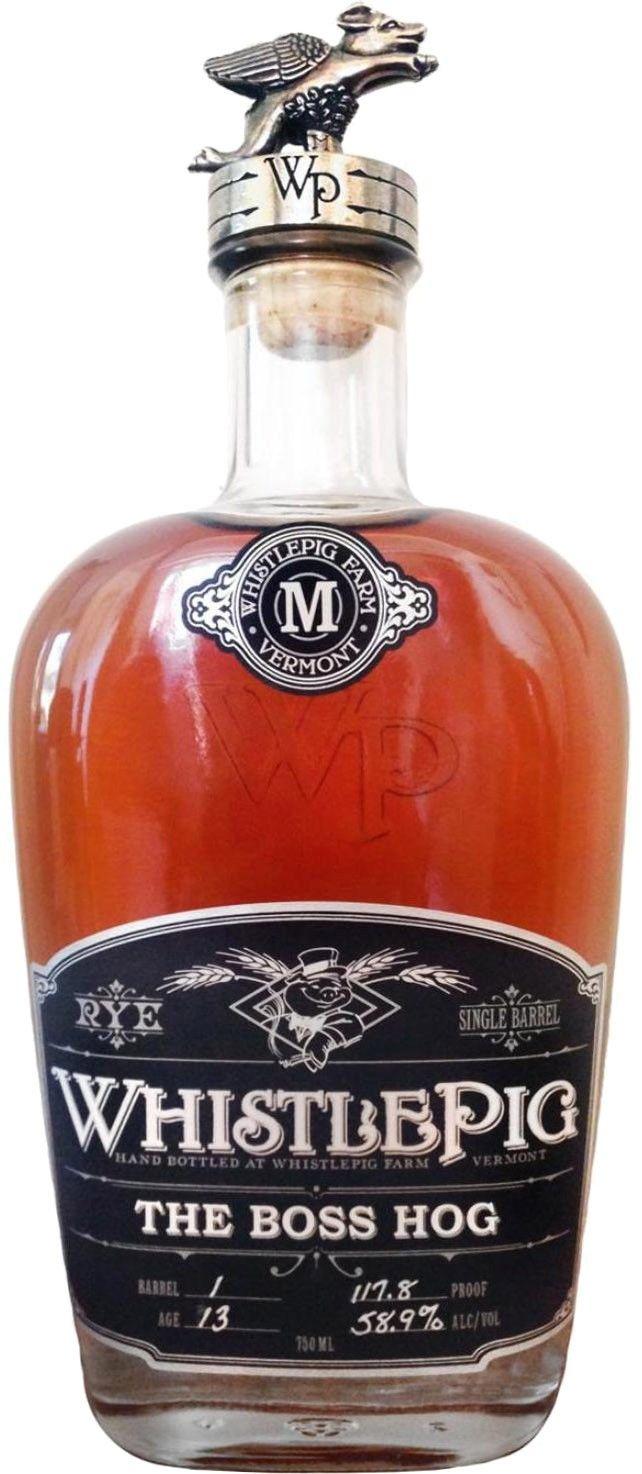 WhistlePig The Boss Hog Spirit of Mortimer Straight Rye Whiskey   @Caskers