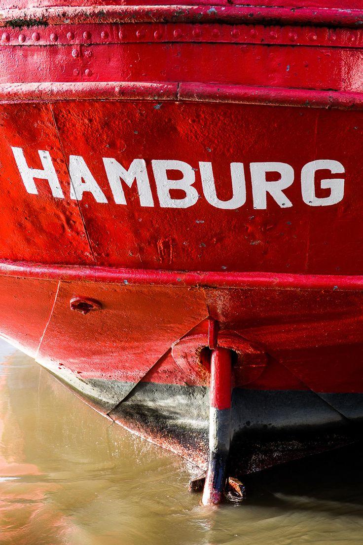 Traditionsschiff Elbe 3 Heckansicht | Bildschönes Hamburg