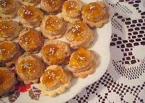 Ořechovo-mandlové kytičky