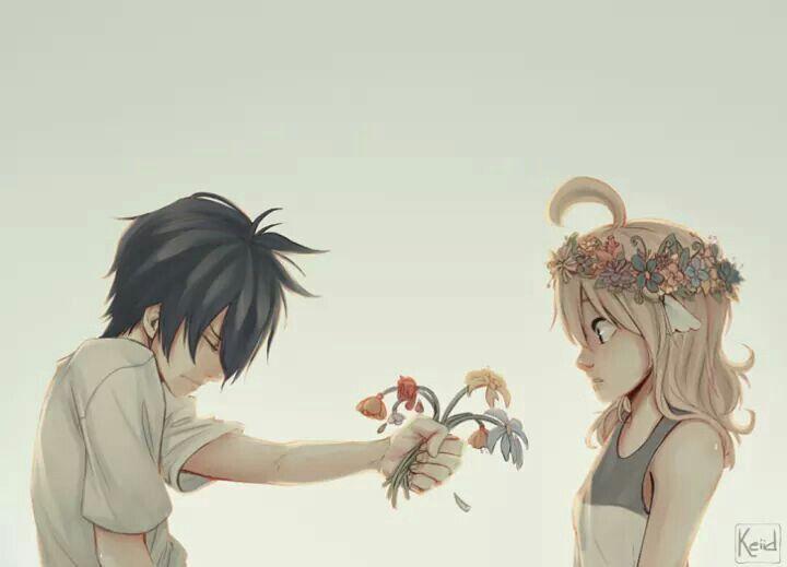 Fairy Tail- Mavis and Zeref