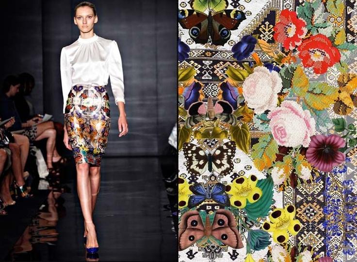 Textile design by Stéphanie Baechler