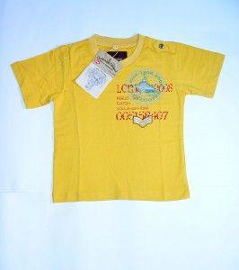 Kaos anak Lee Cooper Warna kuning. Untuk usia 3-4 tahun. Harga 69.900. Order pin BB 3324064E sms 08811812709 atau KLIK>>>http://goo.gl/rpueqd Produk dijamin ORIGINAL