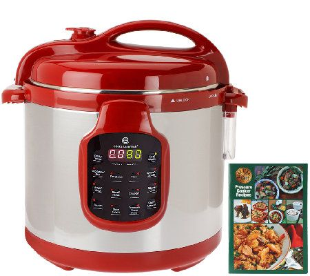 CooksEssentials 6 qt. Round Digital Stainless Steel Pressure Cooker Great investment!! Love it!!