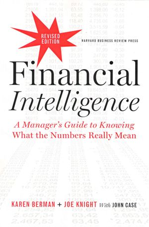 Financial Intelligence Clean minimal layout cover