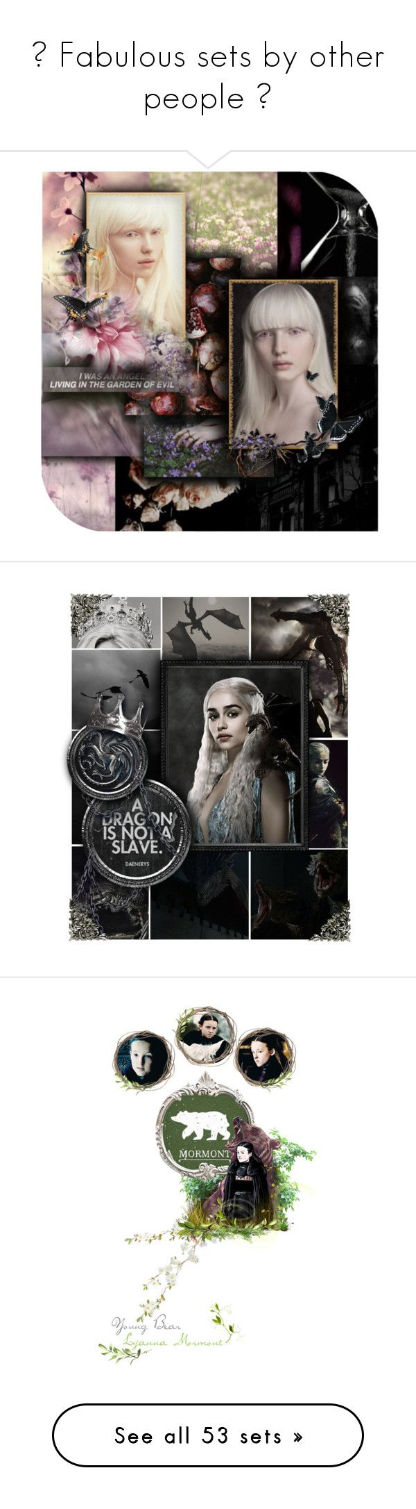 """""""♥ Fabulous sets by other people ♥"""" by annette-heathen ❤ liked on Polyvore featuring art, GameOfThrones, disney, rp, merida, brave, characters, japanese, minis and bots5"""