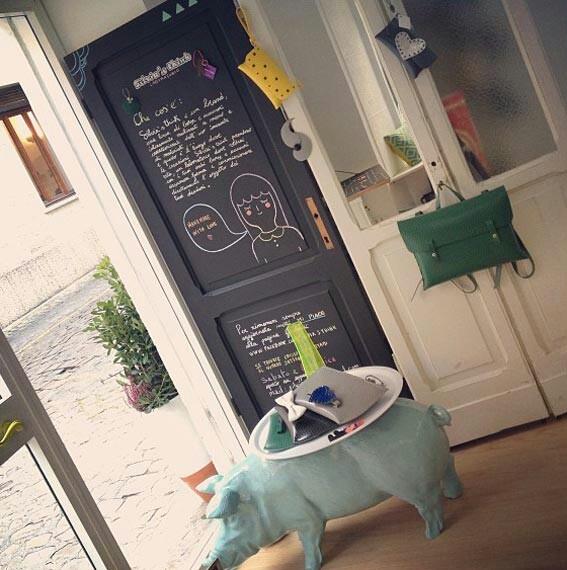 """C'è un #negozio-#laboratorio a #Pesaro per tutte le amanti del """"#fashion #artigianale"""": si chiama #Silvia's #Think ed è nato dalla passione di Silvia Mazzoli"""