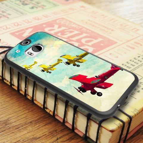 Classic Plane HTC One M8 Case