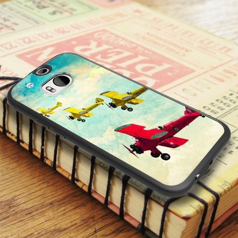 Classic Plane HTC One M8 Case