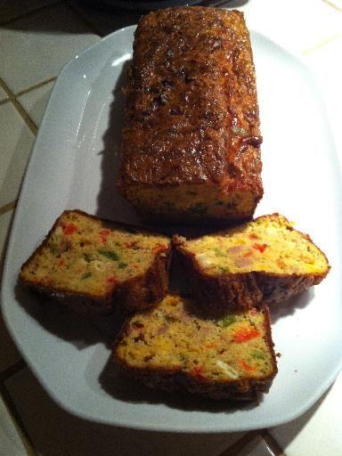 Cake Au Thon Et Olives Tupp