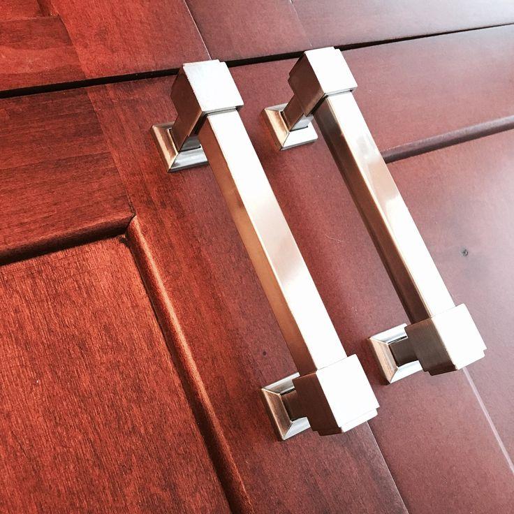Southern Hills Satin Nickel Cabinet Pulls, 4 Inch Screw Spacing, (Pack of 5 Handles), Brushed Nickel Drawer Pulls, Nickel Cabinet Handles, Premium Quality Nickel Cabinet Hardware - - AmazonSmile