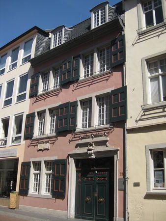 Ludwig van Beethoven est né ici en décembre 1770, à Bonn.