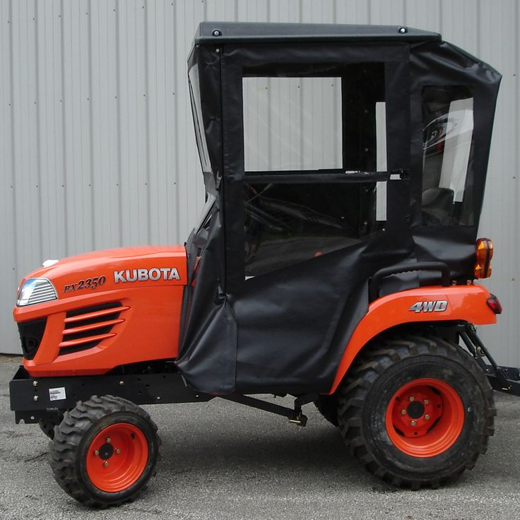 Click Here to Purchase! Hardtop Cab for Kubota BX 1500, 1800,1830, 2220 and 2230 Sub-Compact Tractors