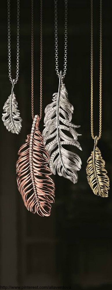 Thomas Sabo's Glam & Soul autumn/winter 2013 collection feather necklaces