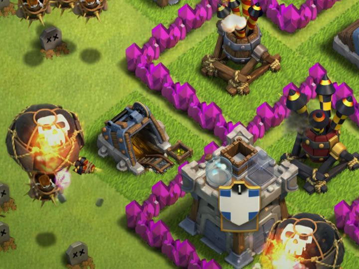 Clash of Clans Air Defense - Read about Defense strategy, Offensive strategy, Level 8, Air Defense Base, Upgrades and Costs - Clash of Clans Air Defense.