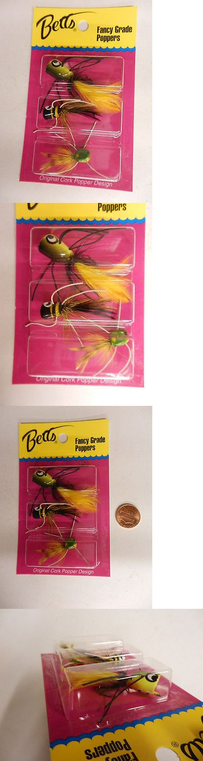 Other Terminal Tackle 179977: Betts Panfish Poppers - 12 Packs Of 3 - Value Pack - Great For Panfish #P3-P -> BUY IT NOW ONLY: $60.99 on eBay!
