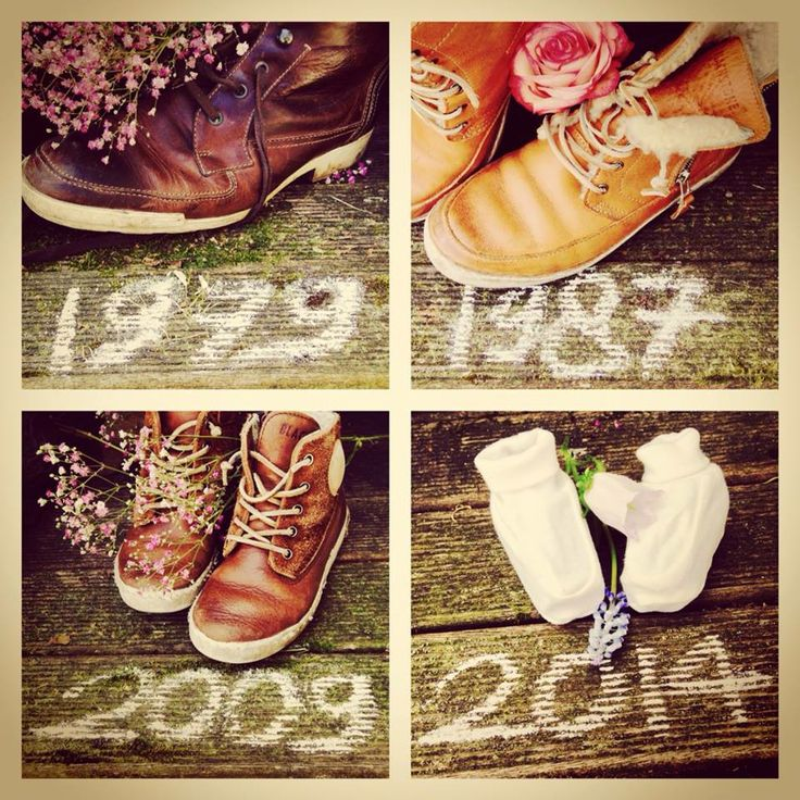 Zeg het met schoenen... #aankondiging #geboorte #hetlandvanooit  http://www.hetlandvanooit.be