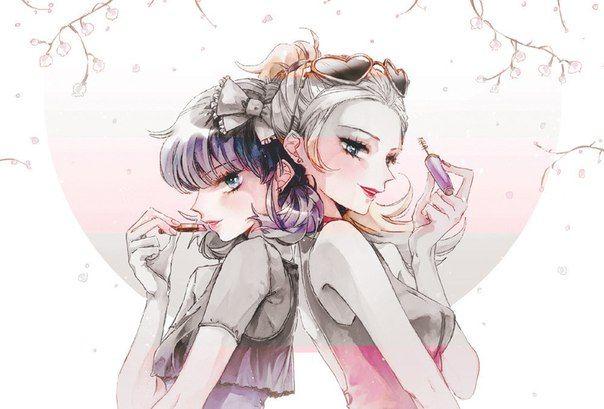 Glamorous Marinette and Chloe (Miraculous LadyBug)