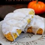 Starbucks Clone Pumpkin Scones. Amazing!!  Made these and they were a hit.  Great fall recipe.