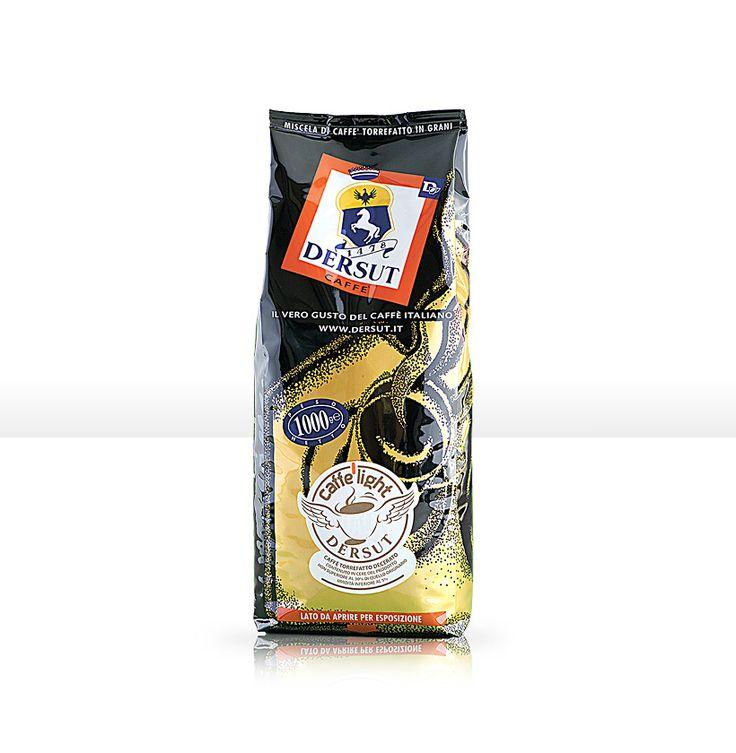 Caffè Light: decerato ad alta digeribilità, dal gusto pieno ma con un contenuto ridotto di caffeina.