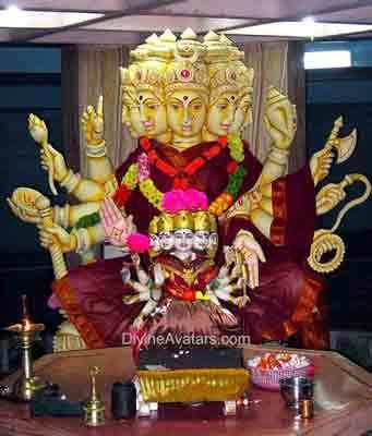 Goddess Gayatri Devi