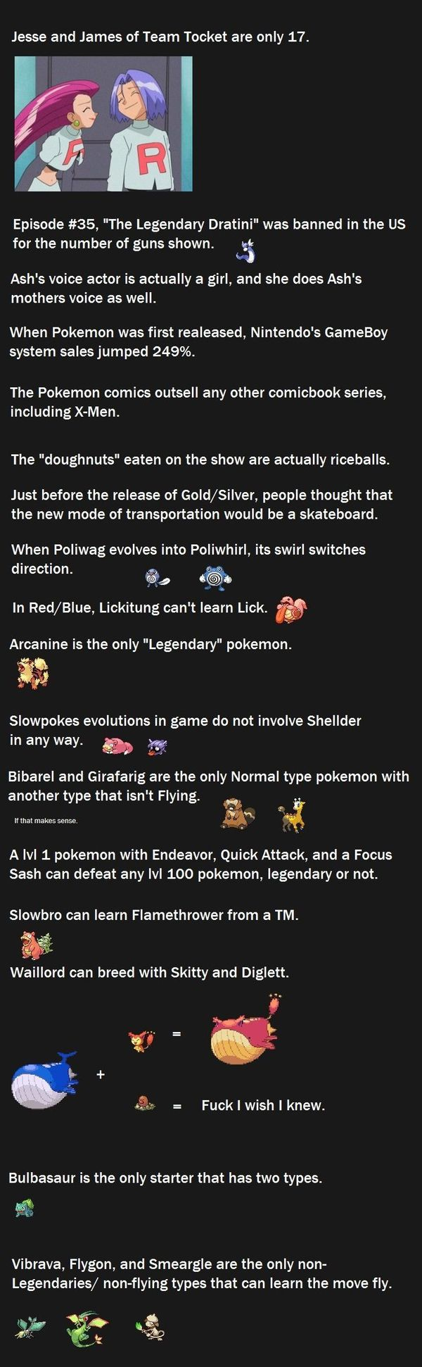 Funny Pokemon Facts 4