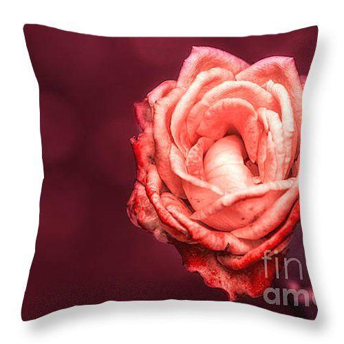 "Romantic Throw Pillow 14"" x 14"""