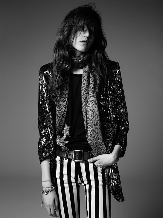 La collection PSYCH ROCK de Saint Laurent